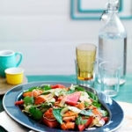 Salmon & Watermelon Thai Style Salad